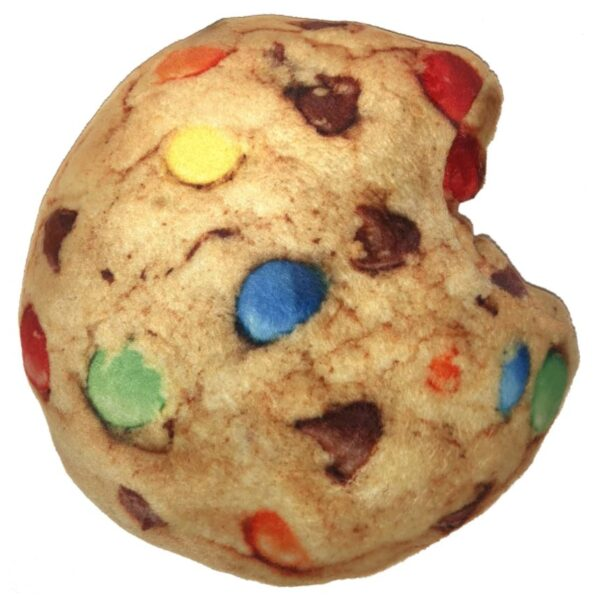 cookie squeaky dog plush toy
