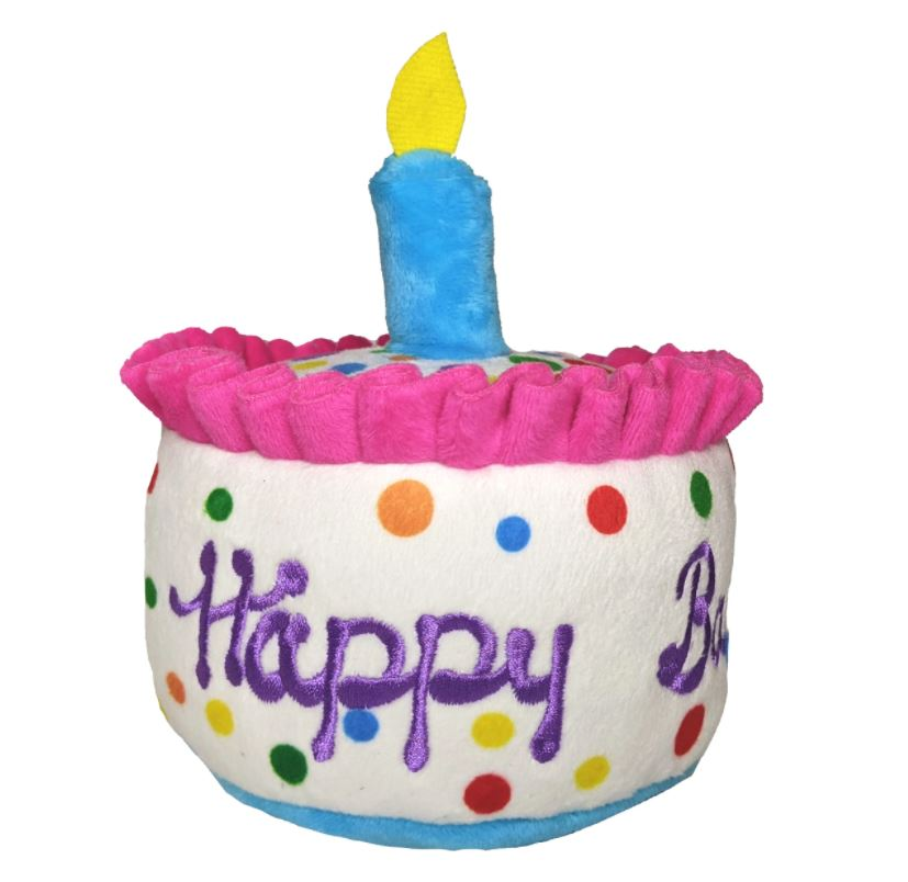 birthday cake toy for dogs product image