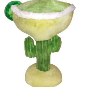 margarita dog plush squeaky toy